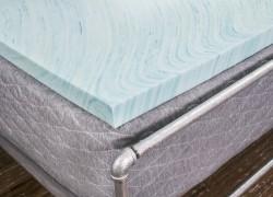 DreamFoam Gel Swirl 2-Inch Memory Foam