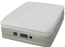 Insta-Bed Never Flat Pump Raised Pillow Top Air Mattress