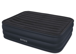Intex Raised Airbed with Built-In Electric Pump