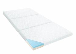 LUCID Gel Memory Foam Folding Mattress