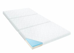 LUCID Gel Memory Foam Folding Mattress
