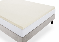 LUCID Foam 2-Inch Mattress Topper Queen