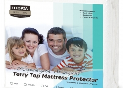 Utopia Bedding Waterproof Hypoallergenic Mattress Cover